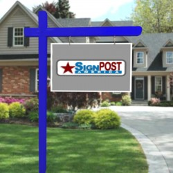 blue realty post